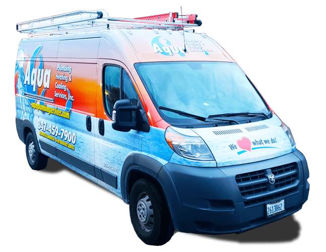 Aqua Plumbing Heating and Cooling Truck